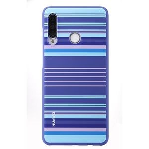 Huawei Protective Case for P30 Lite Striped Blue 51993049