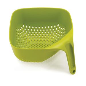 Square Colander Medium Green 21cm