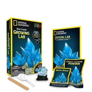 Crystal Grow Blue