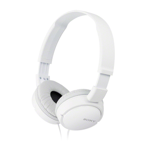Sony MDR-ZX110 White On Ear Headphones