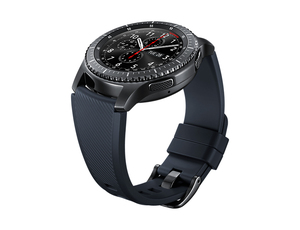 Samsung Gear S3 Active Silicon Band Strap Black