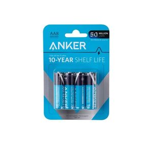 Anker Aa Alkaline Batteries 8Pack Black