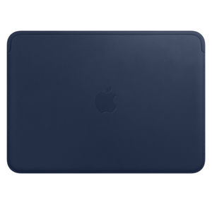 Apple Leather Sleeve Midnight Blue for MacBook 12-Inch
