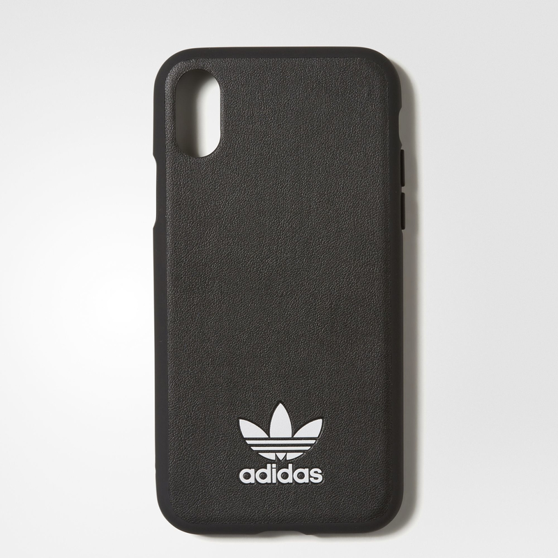 best service 2f4b4 33d01 Adidas TPU Moulded Case Black/White for iPhone X