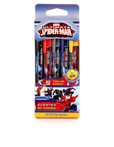 Scentco Spiderman Sketch & Sniff Gel Crayons [Set Of 5]