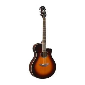 Yamaha Apx600 Electric-Acoustic Guitar Old Violin Sunburst