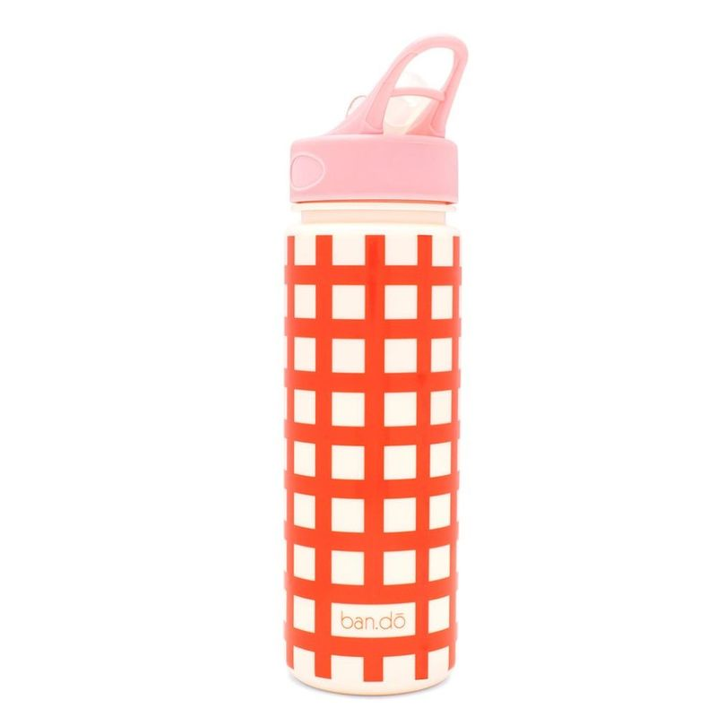 Work It Out Water Bottle Lattice