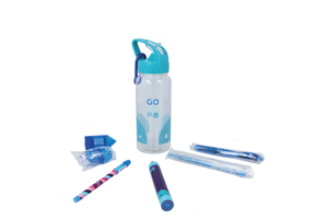 Gogopo Blue Sports Bottle Bundle