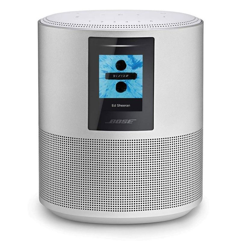 Bose Home Speaker 500 with Amazon Alexa Luxe Silver