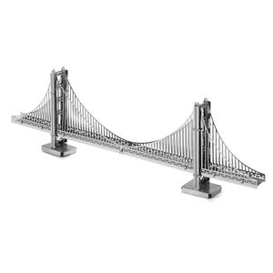 3D Metal World Golden Gate Bridge 1 sheet