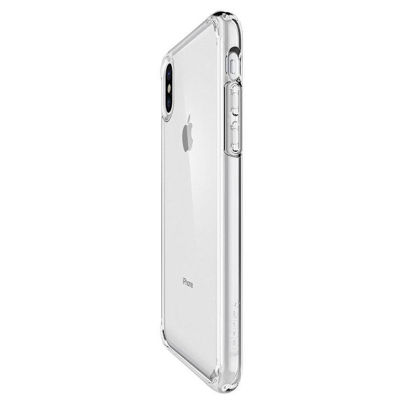 premium selection a0ea7 78a51 Spigen Ultra Hybrid Case Crystal Clear for iPhone X