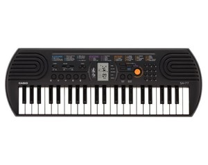Casio Sa-77 44Keys Black Midi Keyboard