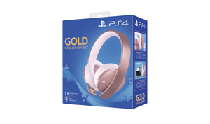 Sony Gold Wireless Headset Head-band Rose Gold