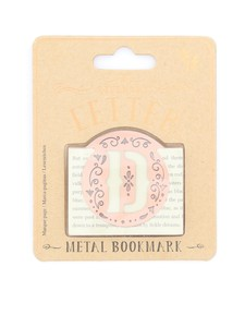 If Literary Letter D Bookmark
