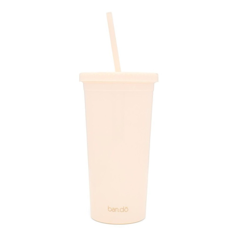 Ban.do Sip Sip Tumbler With Straw, You Are Gold