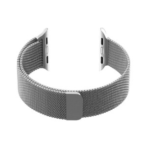 Promate Magnetic Milanese Loop42Mm Apple Watch Silver