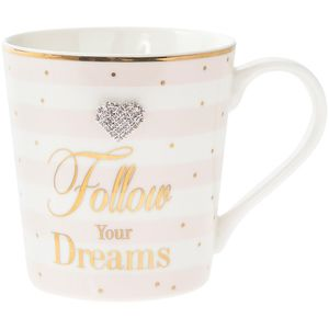 Mad Dots Follow Dreams Mug
