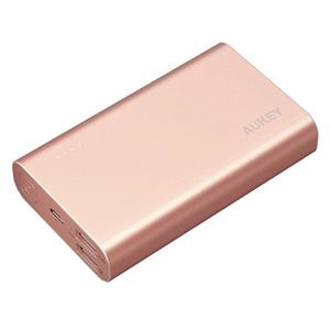 Aukey 10050 Mah Quick Charge 3.0 Power Bank + 1 X Micro Usb Cable Rose Golden