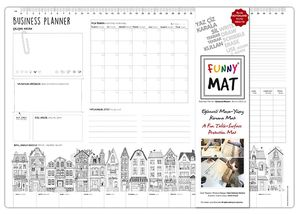 Funny Mat Activity Placemat Business Planner
