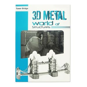 Promotional 3D Metal World Tower Bridge Puzzle