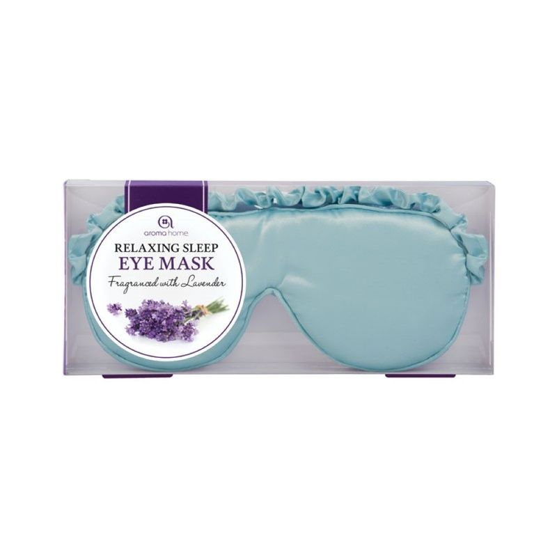 Satin Eye Masks Aqua Blue