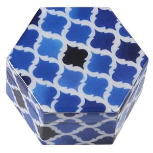 Mykonos Large Hexagonal Box