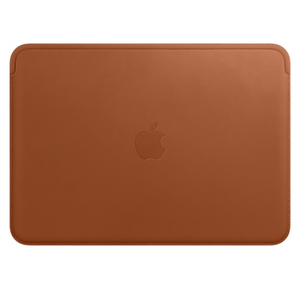 Apple Leather Sleeve Saddle Brown For Macbook 12-Inch