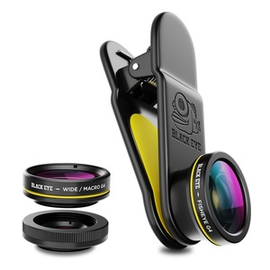 Black Eye 3-Pack G4 Fisheye + Macro + Wide Angle Lense For Smartphones