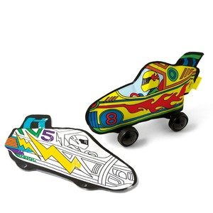 Radical race cars set of 2 double sided