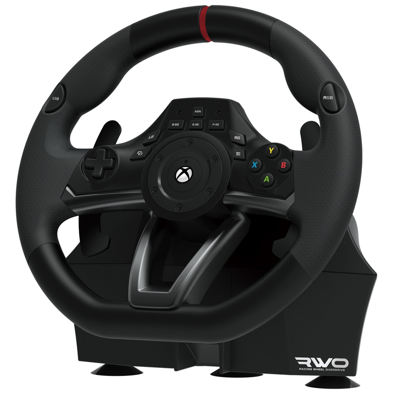 Hori 512245 Gaming Controller Steering Wheel Pedals Xbox One Black