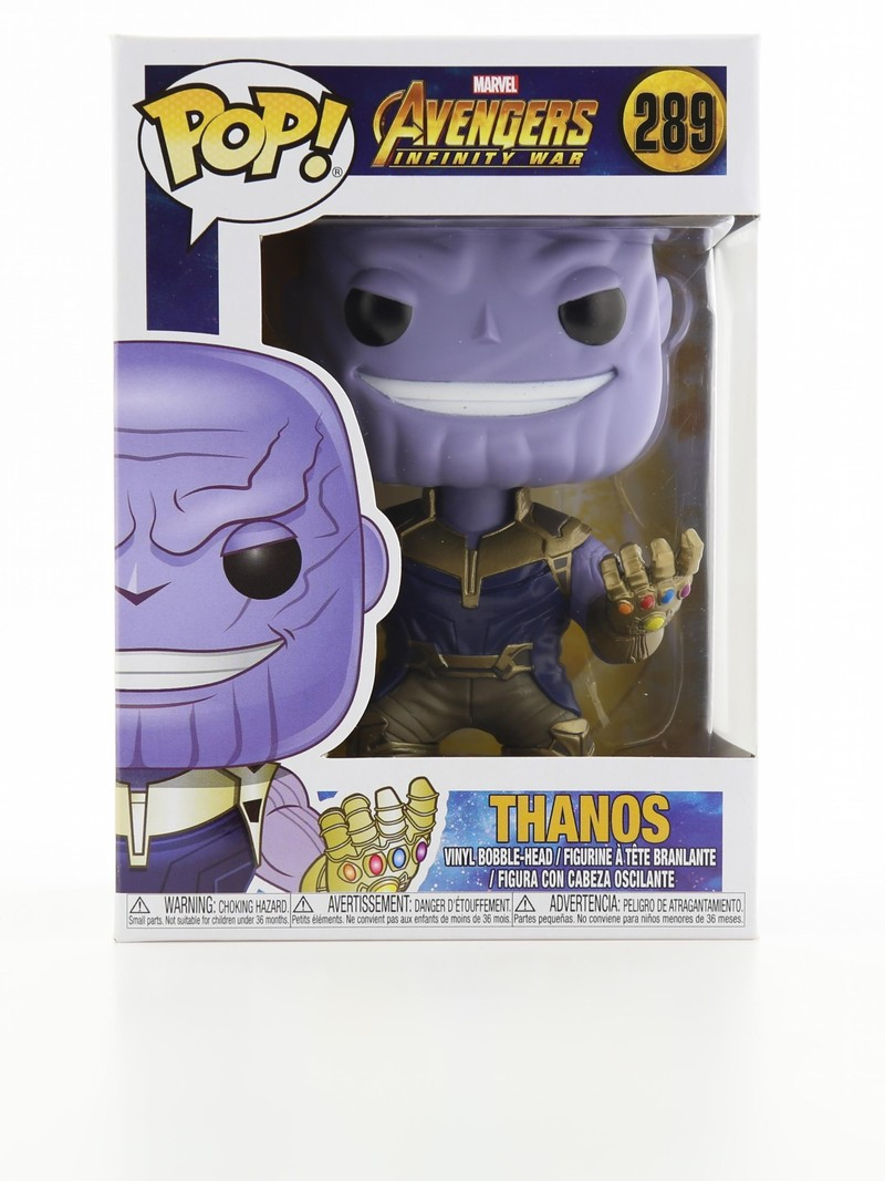 Funko Pop Infinity War Captain Thanos Vinyl Figure
