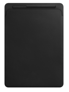 Apple Leather Sleeve Black for iPad Pro 12.9-Inch
