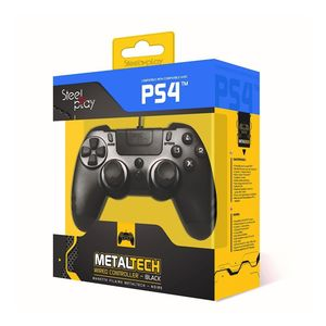 Ps4 Metaltech Wired Controller Black