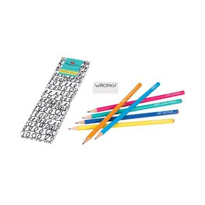 Happy Jackson 6 Pencils Set