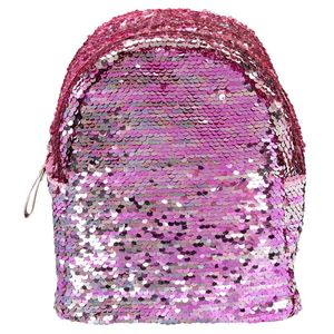 Top Model Backpack Sequins Pink
