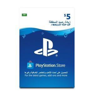 Playstation Network Topup Wallet 5 Usd [Digital Code]