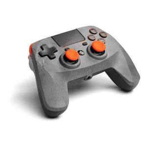 Snakebyte Game Pad 4 S Wireless Rock Grey Orange