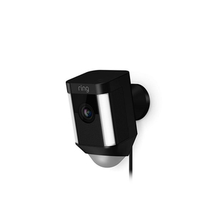 Ring Spotlight Cam Wired Ip Security Camera Outdoor Box Wall 1920 X 1080 Pixels