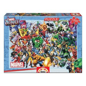 1000 Collage Of Marvel Puzzle