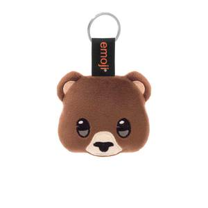 Emoji Bear Official Brown Keychain