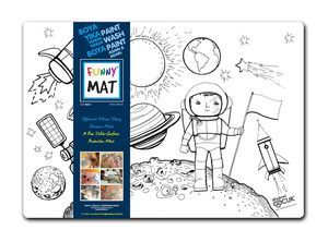 Funny Mat Activity Placemat Space