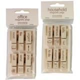 Office/Household Magnetic Pegs Pack/6