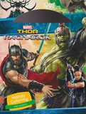 Handy coloring with stickers thor ragnarok