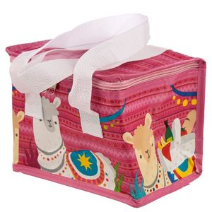 Llama Design Lunch Box Cool Bag