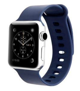 Promate Silicon Strap 38Mm Applewatch Medium Large Blue