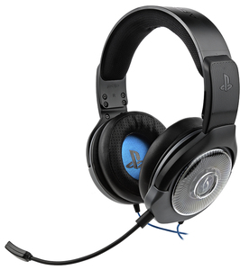 PDP Afterglow Ag6 Ps4 Headset Binaural Helmet Black Blue