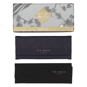 Ted Baker Glasses Case Blue Cadet