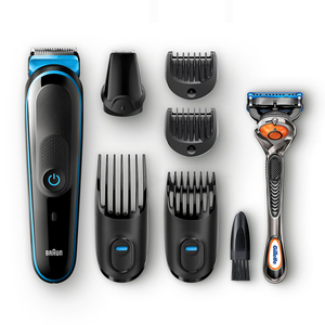 Braun All-in-one MGK5045 beard trimmer Black,Blue