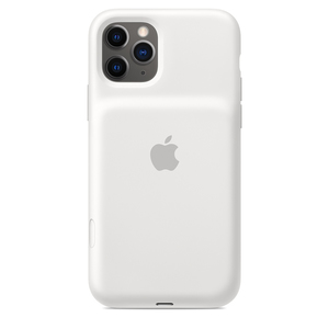 iPhone 11 Pro Smart Battery Case with Wireless Charging White