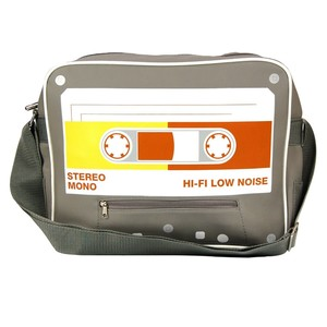 Cassette Tape Sports Bag Cool Retro Walk